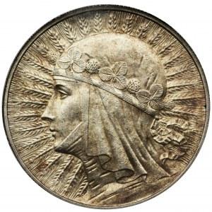 Queen Jadwiga, 5 zlotych Warsaw 1933 - NGC MS62