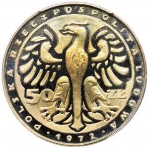PRÓBA, 50 złotych 1972 Fryderyk Chopin - PCGS SP68