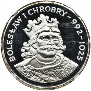 200 złotych 1980 Bolesław Chrobry - NGC PF69 ULTRA CAMEO