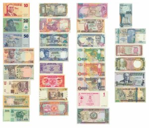 Africa, Set of 84 banknotes 1968-2008