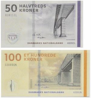 Denmark, Set of 50-100 crowns 2009 (2pcs.)