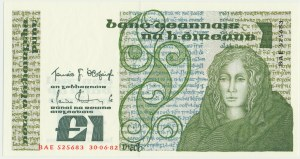 Ireland, 1 pound 1982