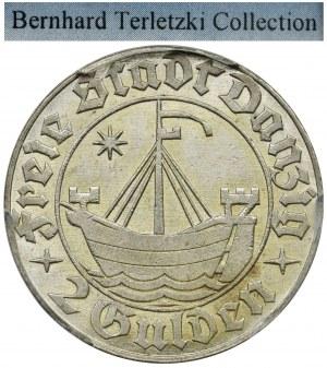 Free City of Danzig, 2 gulden 1932 - PCGS MS62 - ex. Terletzki