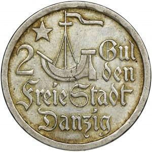 Wolne Miasto Gdańsk, 2 guldeny 1923