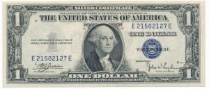 USA, 1 dollar 1935 Silver Certificate