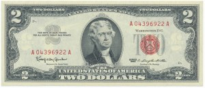 USA, 2 dollars 1963 Silver Certificate