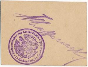 Birkenhain (Brzeziny), 1 marka 1914