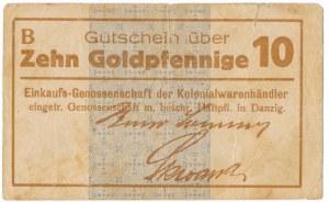 Danzig, 10 Goldpfennige