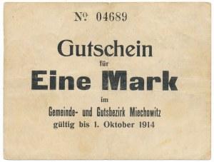 Miechowitz (Miechowice), 1 marka 1914