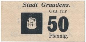 Graudenz (Grudziądz), 50 fenigów 1917