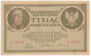 1.000 marek 1919 - bez oznaczenia serii - RZADKI