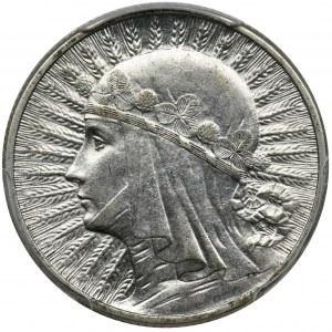 Głowa Kobiety, 2 złote 1933 - PCGS MS62