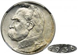 Piłsudski, 2 złote 1936 - NGC MS62 - RZADKI ROCZNIK