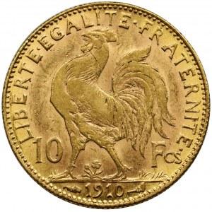 Francja, III Republika, 10 Franków Paryż 1910
