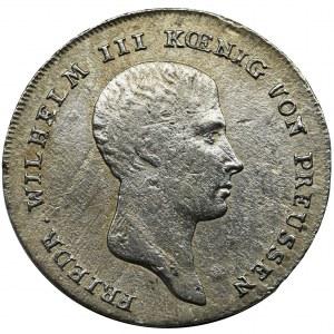 Niemcy, Królestwo Prus, Fryderyk Wilhelm III, 1/6 Talara Berlin 1814 A