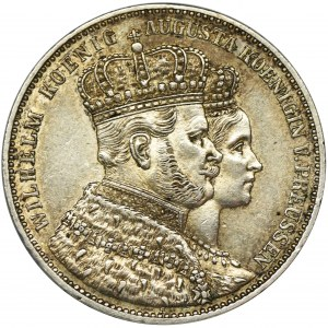 Germany, Kingdom of Prussia, Wilhelm I, Crown Thaler Berlin 1861