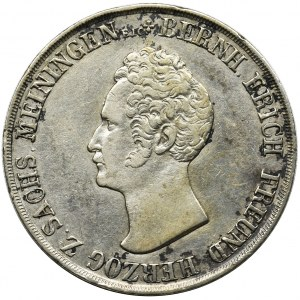 Germany, Saxony-Meiningen, Bernard II Eric Freund, Gulden 1836 - RARE