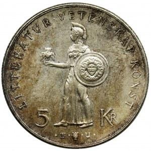 Szwecja, Gustaw VI Adolf, 5 Koron Sztokholm 1962