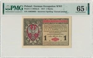 1 marka 1916 Jenerał - A - PMG 65 EPQ