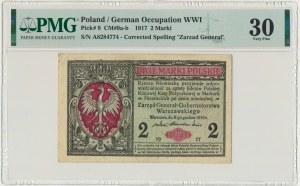 2 marki 1916 Generał - A - PMG 30 - rzadki