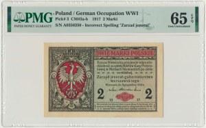 2 marki 1916 Jenerał - A - PMG 65 EPQ