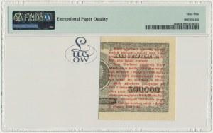 1 grosz 1924 - CP ❉ - lewa połowa - PMG 65 EPQ - Kolekcja Lucow