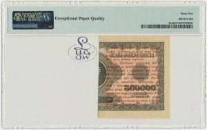 1 grosz 1924 - AE ❉ - lewa połowa - PMG 65 EPQ - Kolekcja Lucow