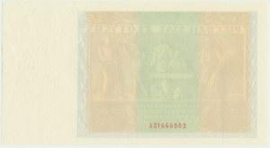 50 złotych 1936 - awers z serią i bez głównego druku