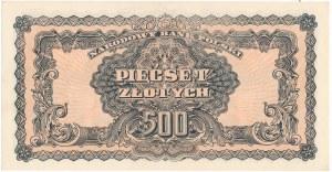 500 złotych 1944 ...owe - Ax - RZADKI