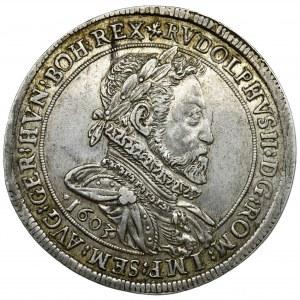 Austria, Rudolf II, Thaler Hall 1603 - RARE