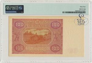 100 złotych 1946 - J - PMG 64 - Kolekcja Lucow