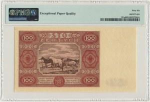 100 złotych 1947 - F - PMG 66 EPQ