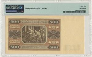 500 złotych 1948 - AD - PMG 65 EPQ