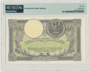 500 złotych 1919 - PMG 66 EPQ - niski numerator