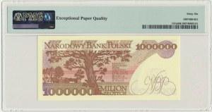 1 milion złotych 1991 - A - PMG 66 EPQ - rzadsza, pierwsza seria