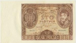 100 złotych 1934 - Ser.C.H. -