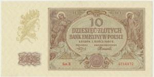 10 złotych 1940 - B - rzadka seria