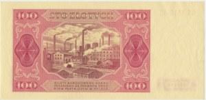100 złotych 1948 - GK - bez ramki