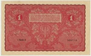 1 marka 1919 - I Serja A - rzadka