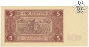 5 złotych 1948 - AA - Kolekcja Lucow