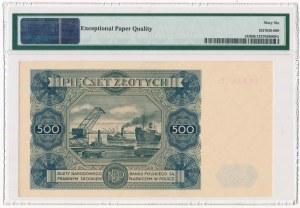500 złotych 1947 - T2 - PMG 66 EPQ