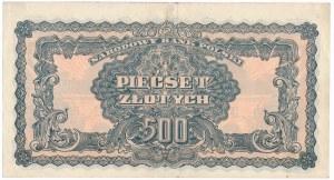 500 złotych 1944 ...owym - TA - PIĘKNY I RZADKI