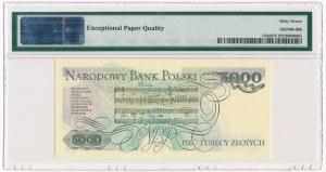 5.000 złotych 1982 - AA - PMG 67 EPQ