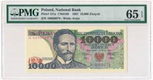 10.000 złotych 1987 - A - PMG 65 EPQ