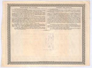 Rosyjsko-Belgijskie Towarzystwo Metalurgiczne, akcja na 250 rubli, 1895