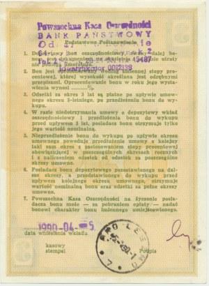 PKO, Depozytowy Bon Oszczędnościowy na 100.000 złotych 1990