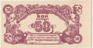 Bytomskie Zjednoczenie Przemysłu Węglowego, 50 groszy 1945