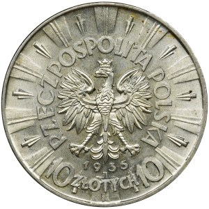 Piłsudski, 10 złotych 1935 - PIĘKNY