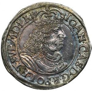 John II Casimir, 1/4 Thaler Thorn 1660 HDL - RARE