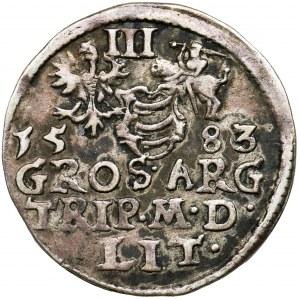 Stephen Batory, 3 Groschen Vilnius 1583